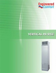 Vertical Fan Coil Units - 39 Series