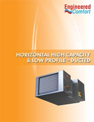 Horizontal High Capacity & Low Profile Fan Coil Units - 35FH & 37FH Series